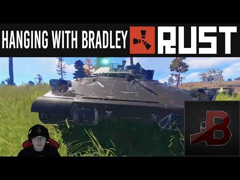 Hanging With Bradley - Rust