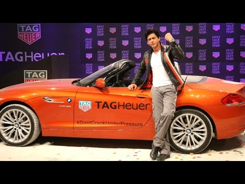 Shahrukh Khan's Super STYLISH Entry At Tag Heur Event