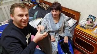 Новая шуба для мамы Посылка  из России