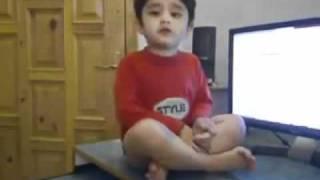 atif aslam s son singing pheli nazar mein