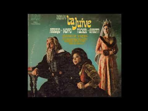 La Juive (Highlights); Tucker, Arroyo, Giaiotti, Moffo, Sabaté & De Almeida; 1974