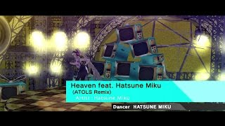 Persona 4 Dancing All Night Heaven feat Hatsune Miku