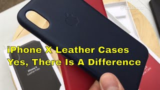 Which iPhone X Leather Case from Apple Should You Buy? Some Quick Tips