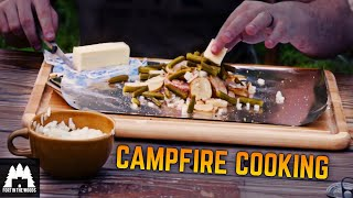 Camp Fire Cooking Ep. 1 Foil Packets | Fort In The Woods | FITW