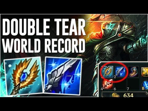 WORLD'S FASTEST DOUBLE TEAR BUILD ! STACKED FIRST ONE IN 12 MINUTES FULL MANA DOUBLE TEAR VIKTOR !