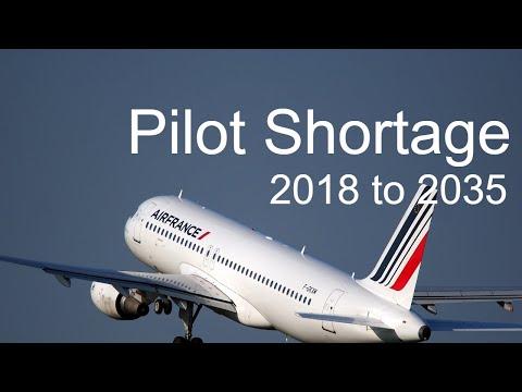 Pilot Shortage 2018 & Beyond.  Pilot, Cabin Crew, Engineers Jobs