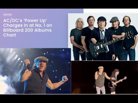 "AC/DC hit number 1 on the Billboard Top 200 with new album ""Power Up"" ...!"