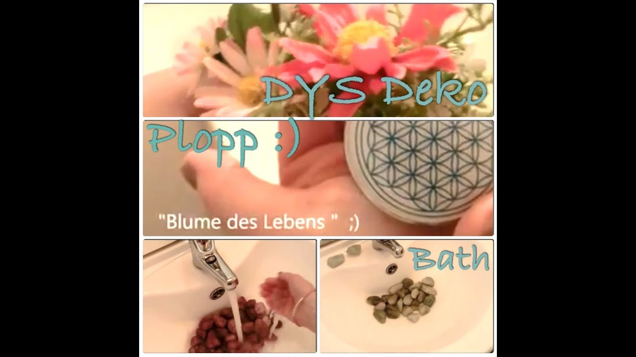 ♡ Deko [Quick Tipp] Bad U [DIY] Home Decoration Bath   Plopp, Puff, Peng ;)    YouTube