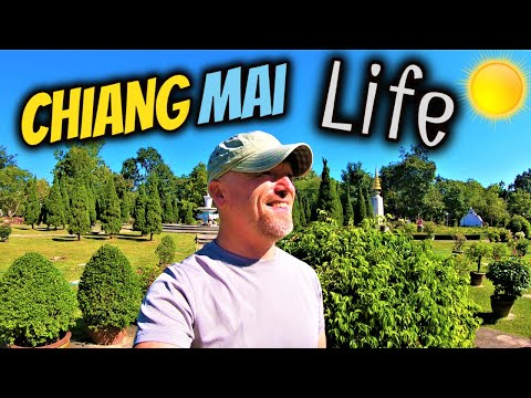 Life In Thailand Today | Chang Phueak Lake & Lanna Park