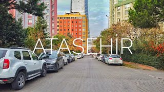 Walking in Istanbul - Asian Side - ATAŞEHİR