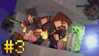 ВЫЖИВАНИЕ НА ОДНОМ ЧАНКЕ С АЧИВКАМИ #3 - ПЕЩЕРНЫЕ РАЗБОРКИ С МОНСТРАМИ - Minecraft Прохождение Карты