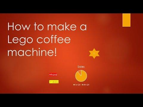 lego coffee machine instructions
