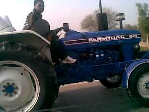 Farmtrac 60 On 80km/h Speed Pir Mohamad By Gurdev