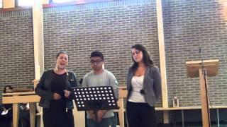 Belijdenis van Sharayah en Shannen 8-9-2013