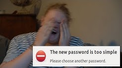 When your password is not strong enough
