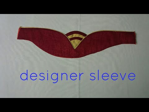 designer sleeve for dress and blouse