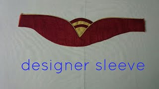designer sleeve for dress and blouse
