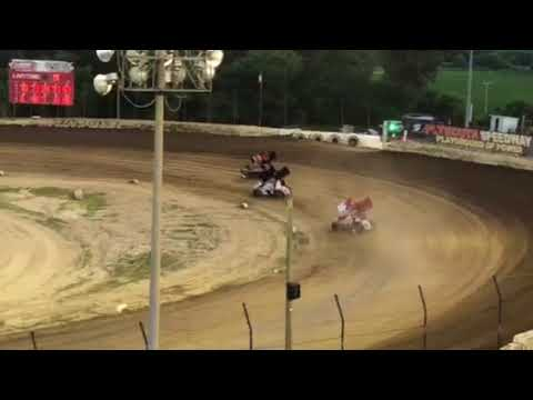 ‭6-30-18  PLYMOUTH SPEEDWAY, IN  PRO SPRINT - FEATURE