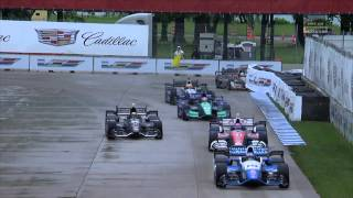 インディ第8戦決勝レースハイライト