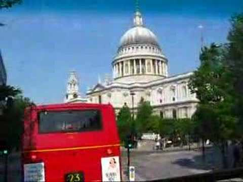 London 2008 - Enjoying the Sights from the No. 11 Bus