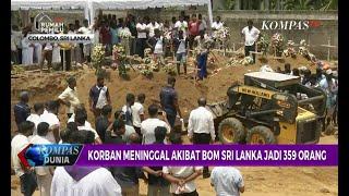 Korban Meninggal akibat Bom Sri Lanka Jadi 359 Orang