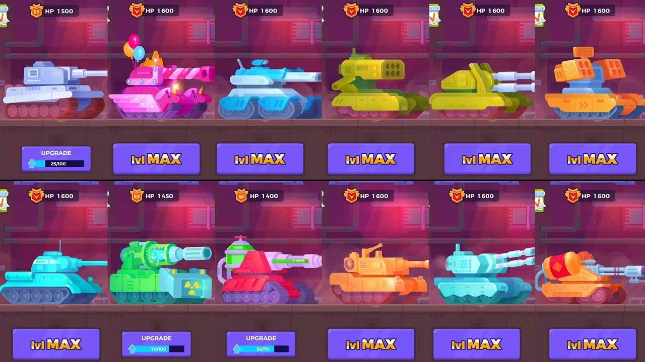 Tank Games List