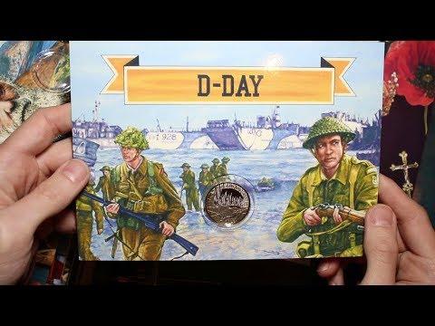 Change Checker D-Day £2 Holder & Album