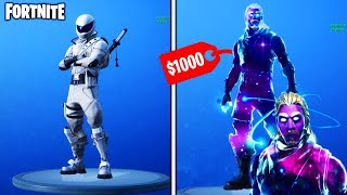 how to unlock the most expensive skin in fortnite... (Fortnite Battle Royale - *NEW* GALAXY SKIN!)
