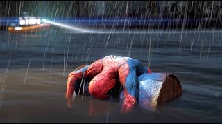 Spider Man Almost Drowned -  Spider Man Ps4