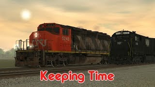 The Marysville Railroad Stories: Keeping Time