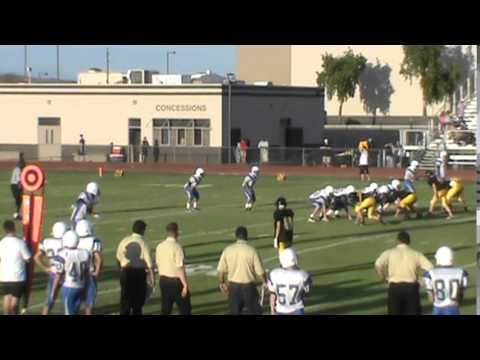 Solomon Enis #6 15 yard catch
