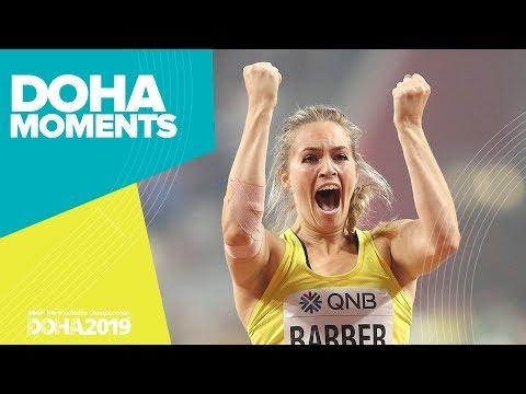 Historic Women's Javelin Win For Barber | World Athletics Championships 2019 | Doha Moments