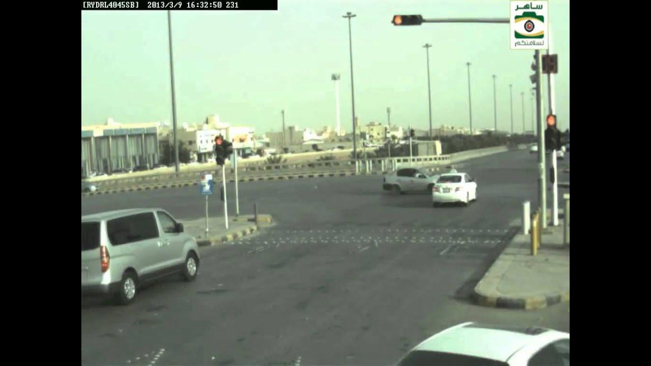 ساهر توثيق بالفيديو لمخالفة قطع إشارة لمرور السعودي Youtube