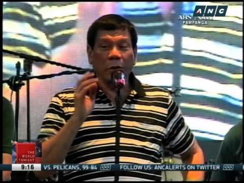 Duterte gets flak for 'kissing spree'