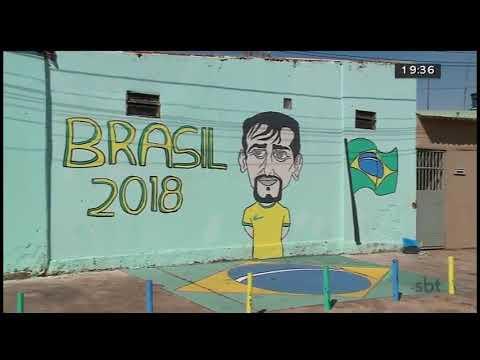 Brasilienses se preparam para a copa do mundo | Jornal SBT Brasília 11/06/2018