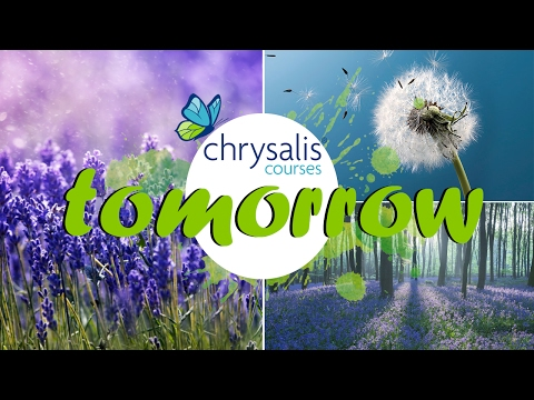 "Chrysalis Counselling Courses - ""tomorrow"""