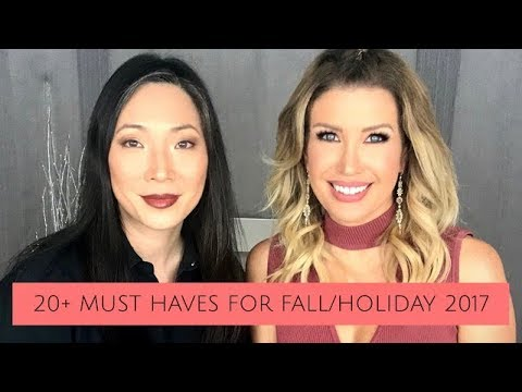20+ Must Have Items for Fall/Holiday 2017 | Girl Talk with Michele Wang!