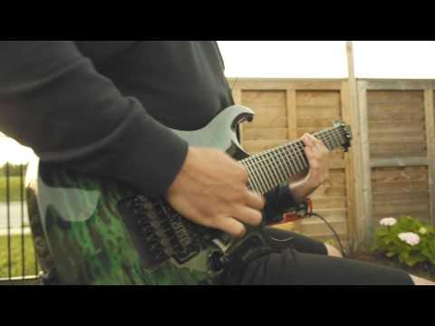 Tyler Teeple - TesseracT - Messenger Guitar Cover