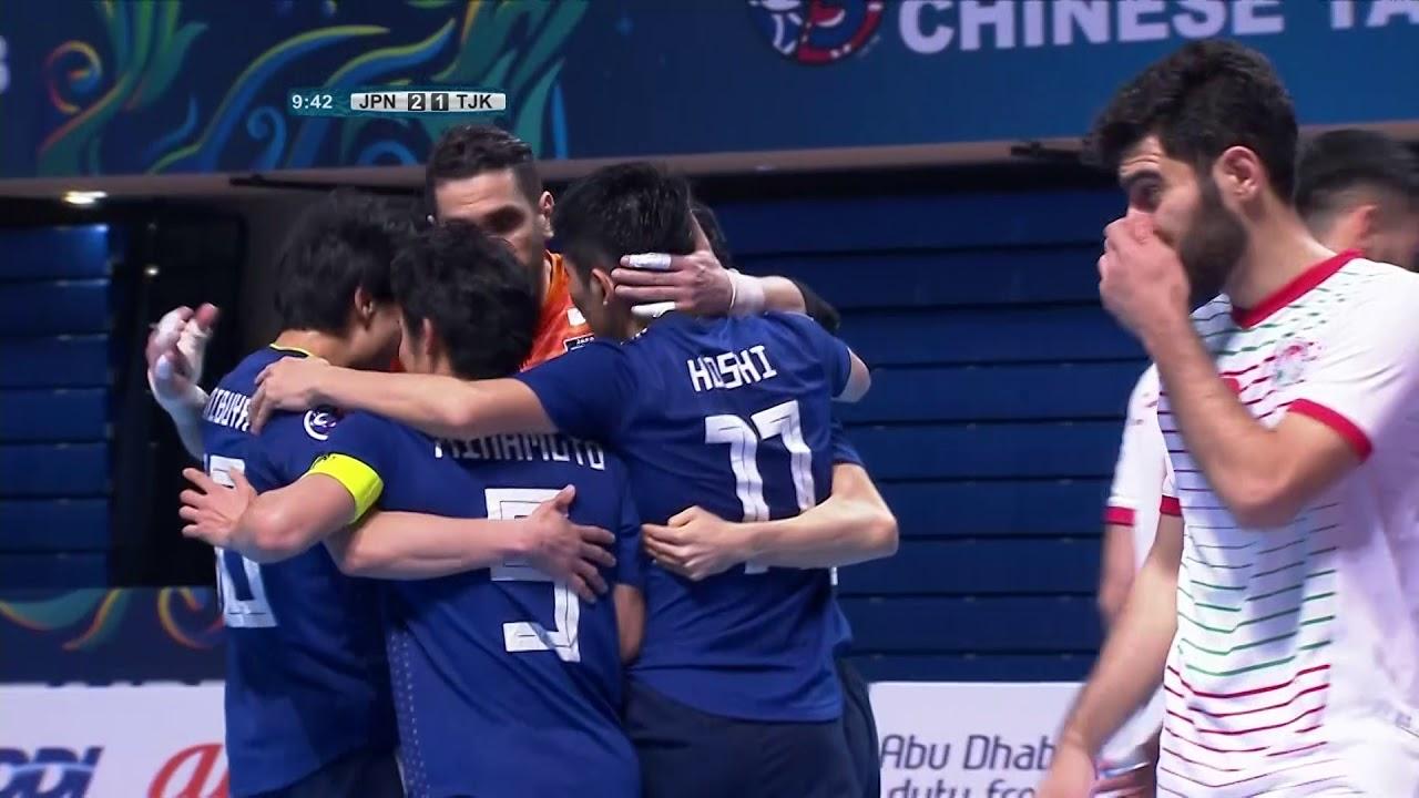 Video: Futsal Nhật Bản vs Futsal Tajikistan