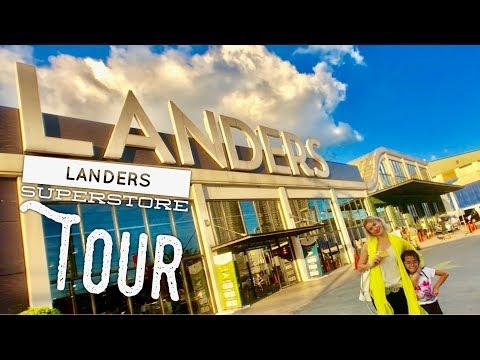 Landers Superstore Walking and Food Tour Balintawak Quezon City Membership Barber Shop