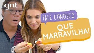 Cozinha Marravilha com Claude Troisgros | #26 | Fale Conosco | Júlia Rabello