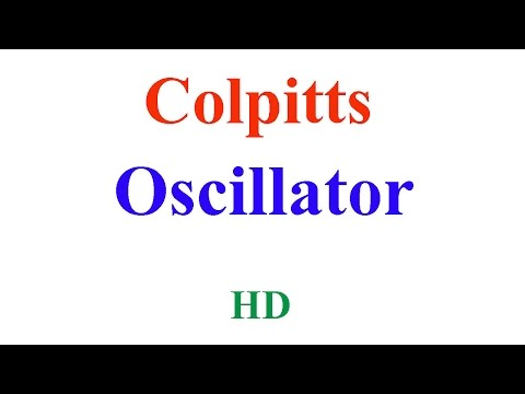 colpitts oscillator working