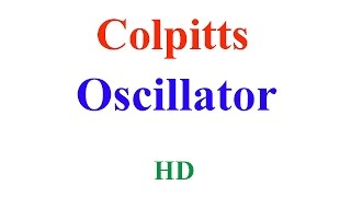 colpitts oscillator working