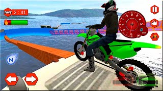 Extreme Bike Stunts Mania - Motor Games Android Gameplay