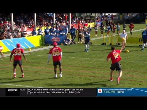 NFL 2019 Pro Bowl Skills Showdown! - (AFC VS NFC) - YouTube a668d3535