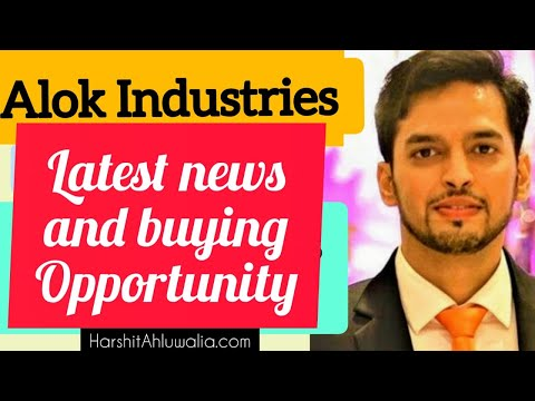 Alok Industries Latest news on buying opportunity
