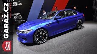 BMW M5, i3S a X3 - Frankfurt 2017 živě