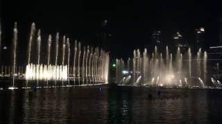 2015 Dubai Mall Fountain Show