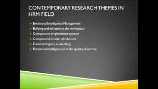 human resource management system thesis