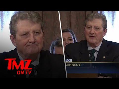Senator John Kennedy Takes A Shot At Lindsay Lohan   TMZ TV